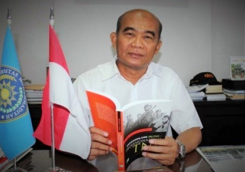 Menteri Pendidikan Dan Kebudayaan Muhadjir Effendysaat di wawancarai