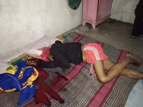 Jasad korban Ali Nurlatu alias Istiar Nurlatu tanpa kepala (Teks&Foto: Abas Buton)